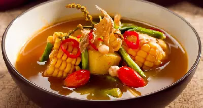 Sayur asam Betawi yang nikmat untuk dihidangkan bersama keluarga pada saat makan siang