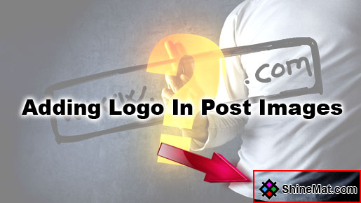 How To Add Logo In Blog Post Images