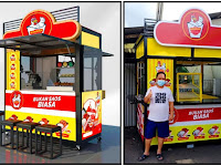 Booth makanan Outdoor Jasa pembuatan Booth Container Bandung - Gerobak Container Outdoor -Booth Container Fried Chicken