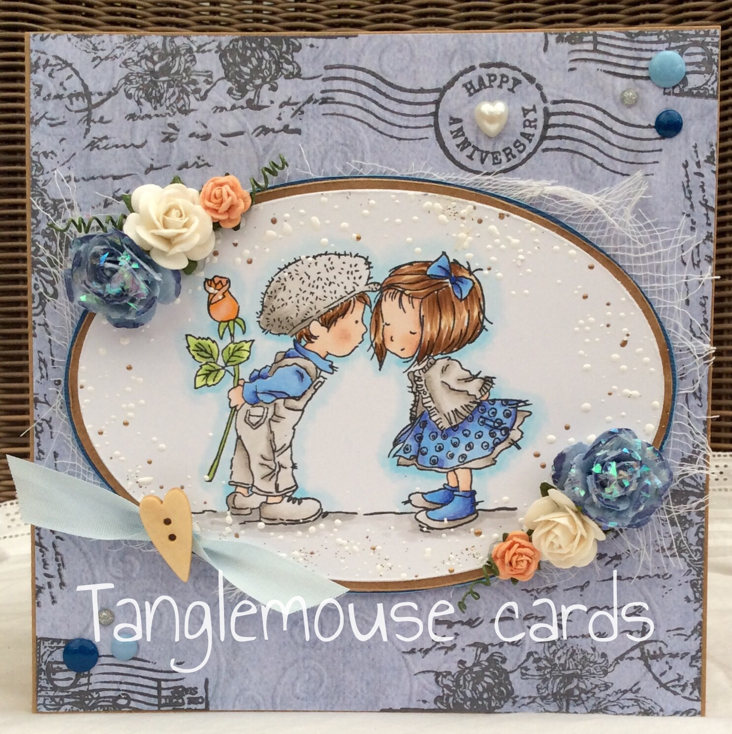 Tanglemouse cards close your eyes by lili of the valley lili of the valley rubber stamp close your eyes papers from lili of the valleys winter wishes collection copic markers memento ink pad archival ink pad altavistaventures Image collections