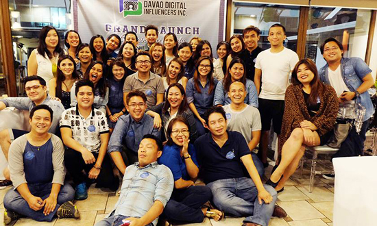 DAVAO DIGITAL INFLUENCERS, INC. GRAND LAUNCH