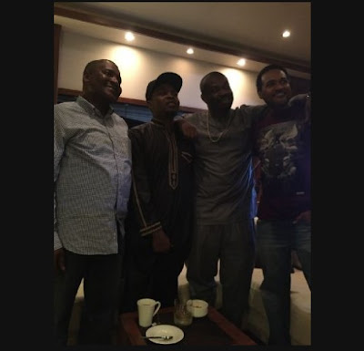 Photo proof that Dangote brookered peace between Olamide and Don Jazzy