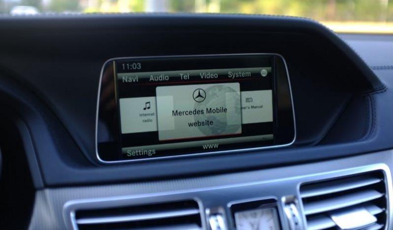 Nội thất xe Mercedes Benz E400 AMG cũ 2013 màu đen 07