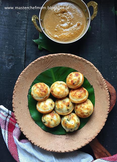 Kuzhi Paniyaram | Chettinadu Kuzhi Paniyaram recipe