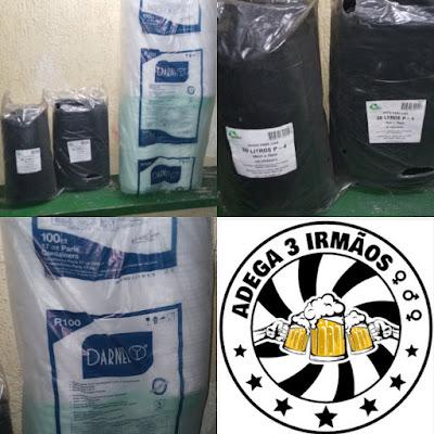 Descartáveis de Isopor para Marmitas e Saco para Lixo 60L