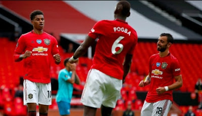 Bruno Fernandes And Pogba