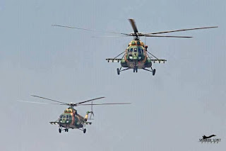 Mi-171sh Armed Transport Helicopter of Bangladesh Army