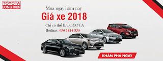 Khuyến mại khách hàng mua xe Toyota tháng 11