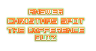 Answer Christmas Spot the Difference Quiz