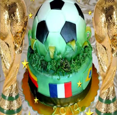 How to Make a World Cup Cake