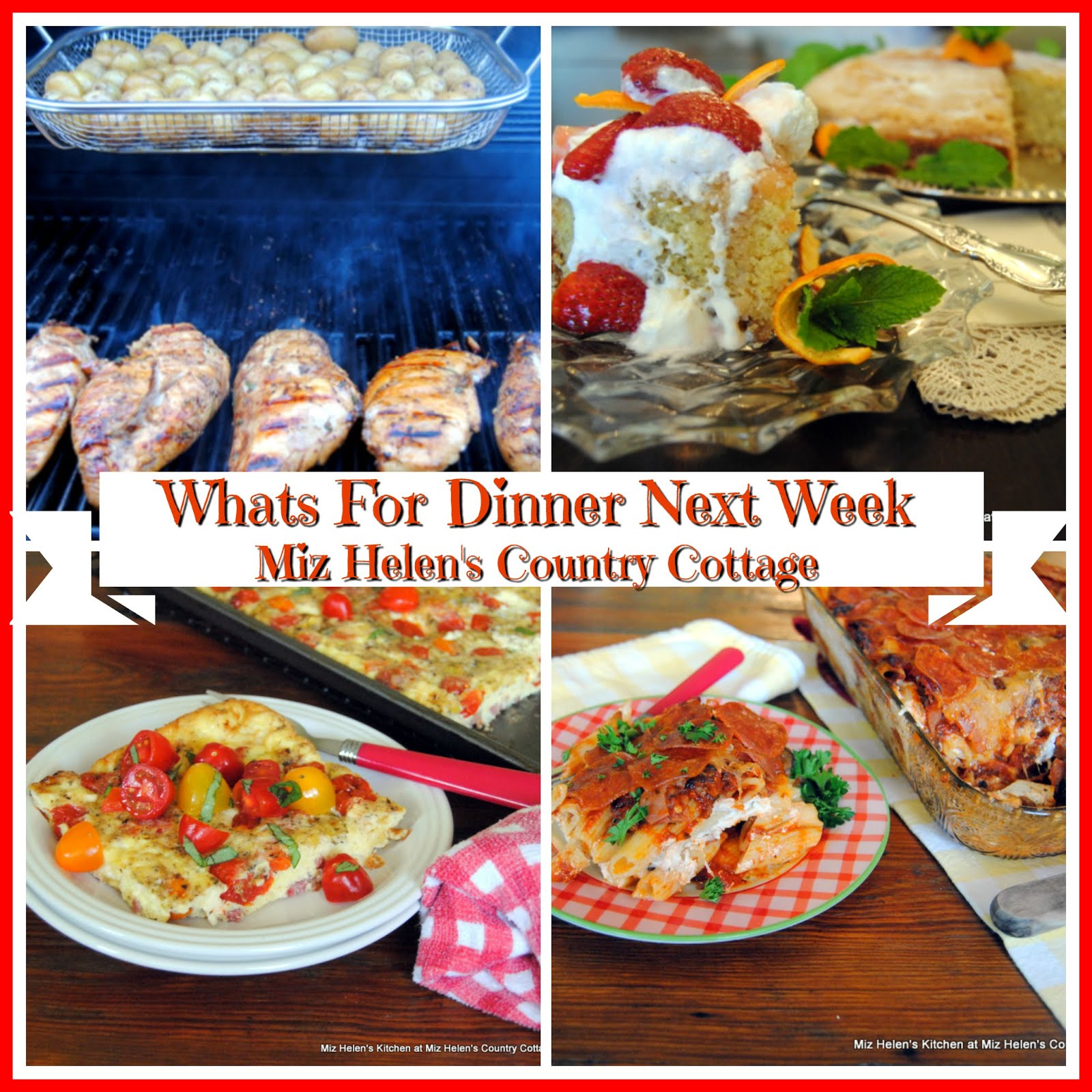 Whats For Dinner Next Week * Week of 5-9-21
