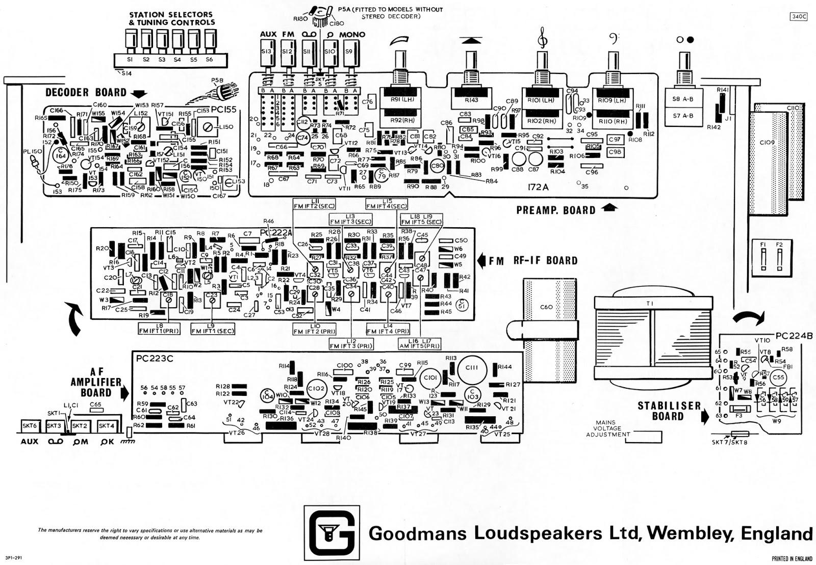 blugoo u0026 39 s bl0g  goodmans 3000 series vintage audio