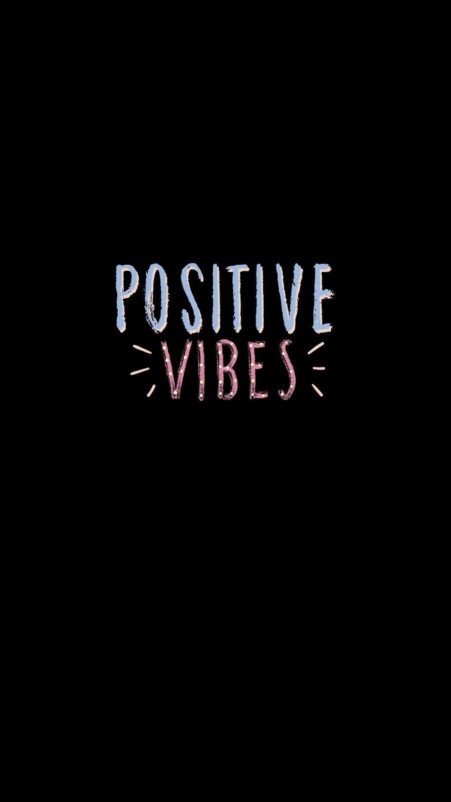 positivism black wallpaper background amoled oled positive vibes