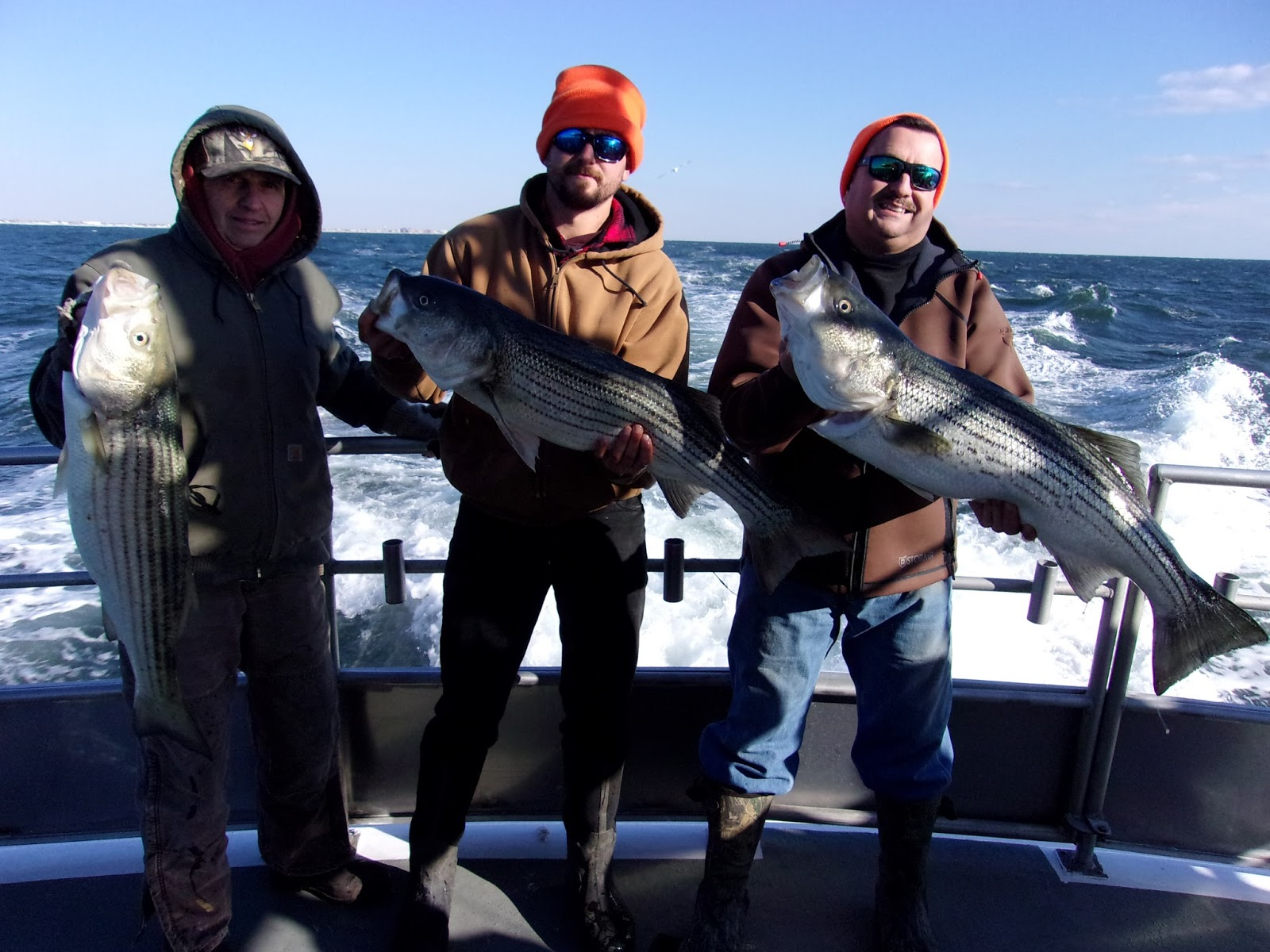 Nj salt fish 2017 12 07 seahunter atlantic highlands for Atlantic highlands fishing report