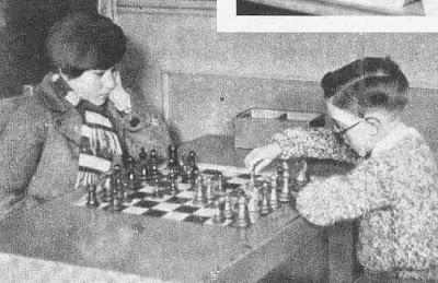 Partida de ajedrez Tomás Rosés vs Victoria Guinart en 1932