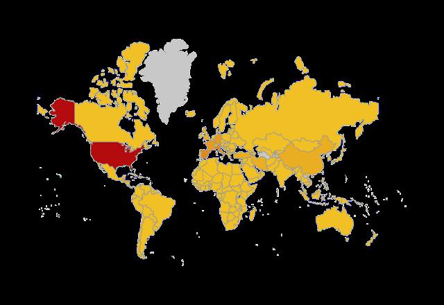Ini Senarai 16 Negara Yang Tidak Dijangkiti COVID-19 Setakat Ini