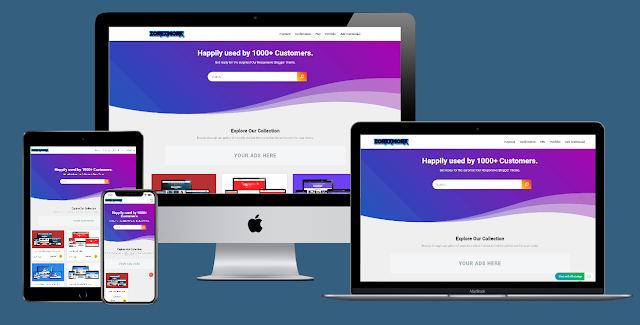 Zorex Work Responsive Premium Blogger Template