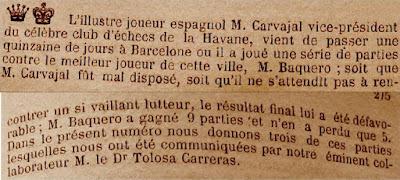 Recorte de La Stratégie, 1891