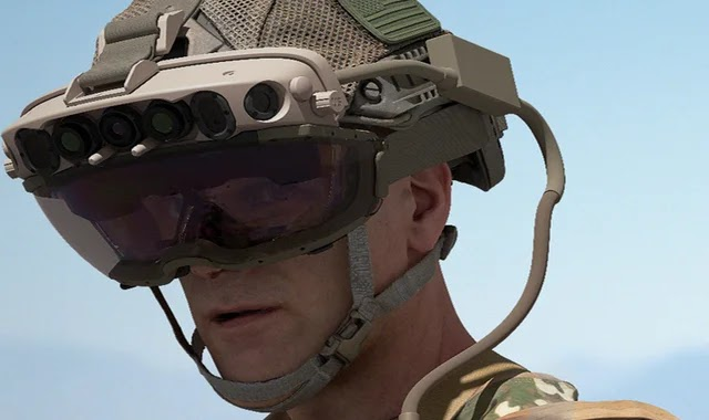 Microsoft is providing the US military with augmented reality technology