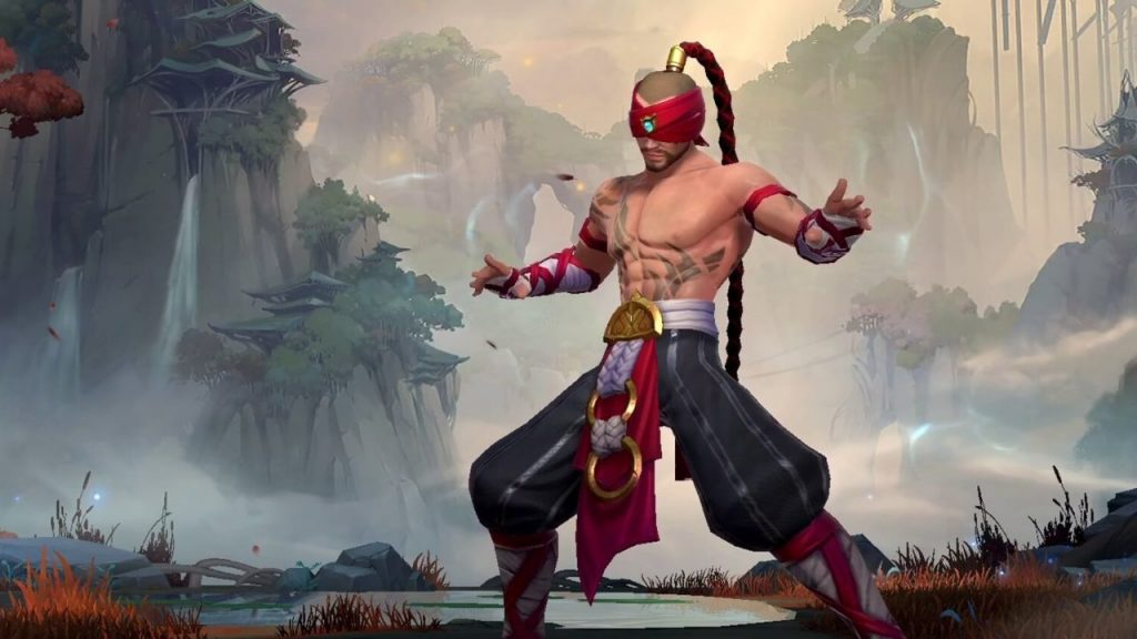 Lee Sin didn't appear until Patch 1.0, but dominates the jungle.