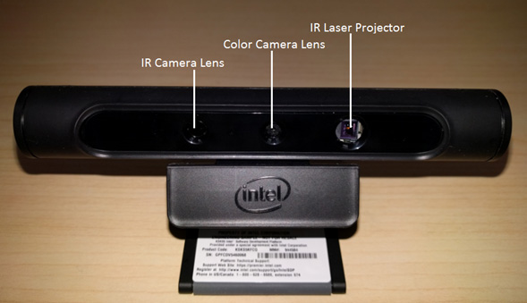 Image Sensors World Intel 2nd Generation Realsense Front