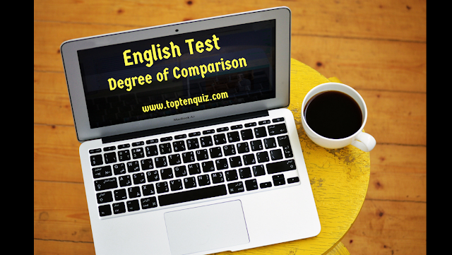 Degrees of comparison exercise