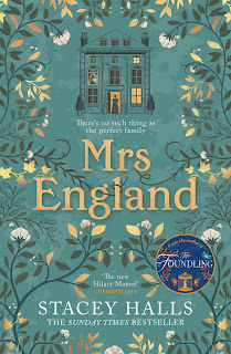 Mrs England by Stacey Halls book cover
