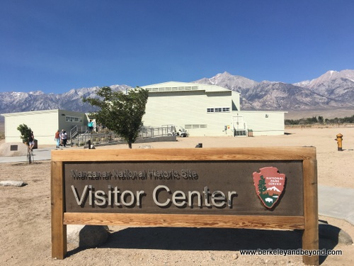 Visitor Center at Manzanar National Historic Site in Independence, California