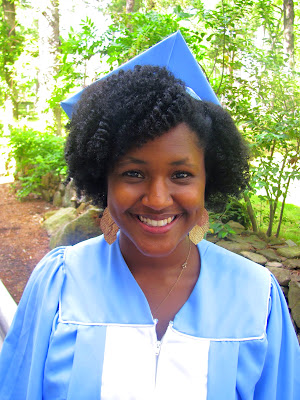 natural hair styles- graduation