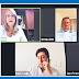 Los pillaron fuera de lugar en plenas reuniones virtuales