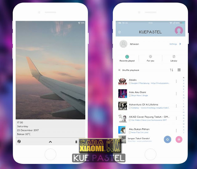 Link MIUI Theme Kue Pastel Mtz Updated Repack for Xiaomi Terbaru