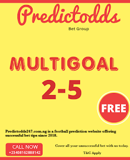 Multi Goal 2-5 Prediction