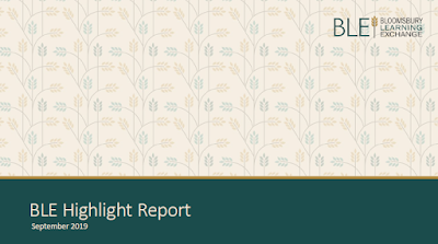 BLE Report cover