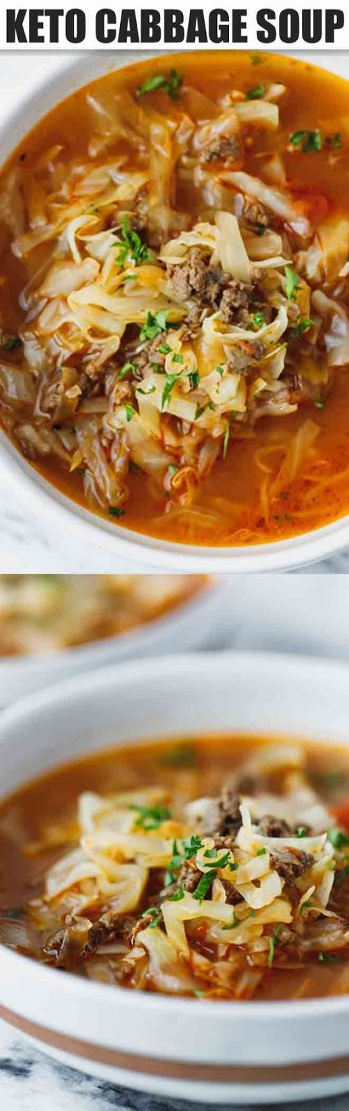 Keto Cabbage Soup Recipe