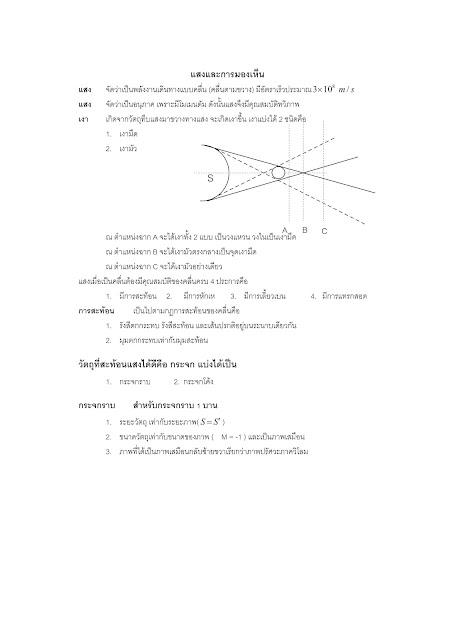 สรุปวิชาฟิสิกส์ 9 วิชาสามัญ