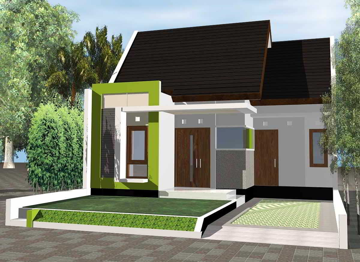 \u30c4 52  desain rumah minimalis tampak depan 1 lantai modern sederhana