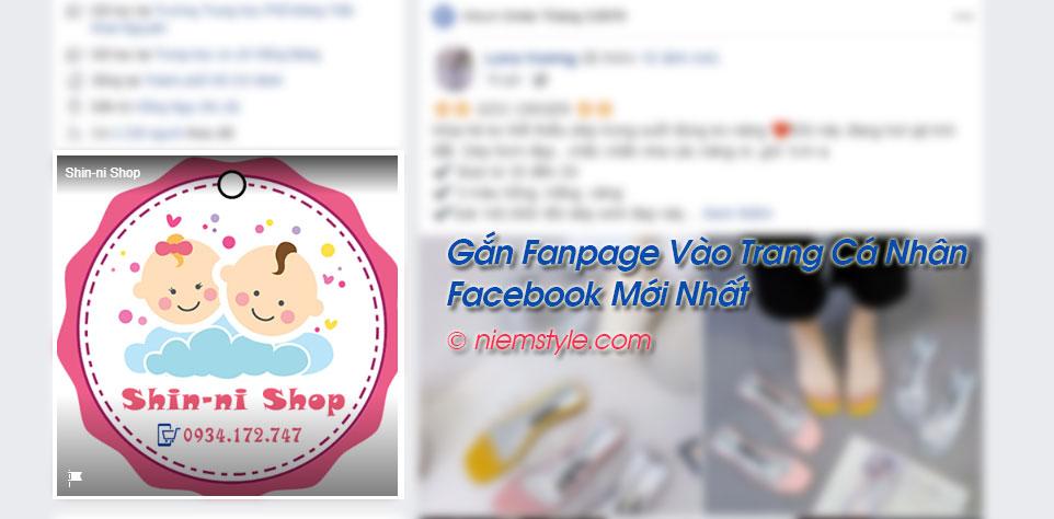 Gắn Fanpage vào trang cá nhân Facebook mới nhất 2019