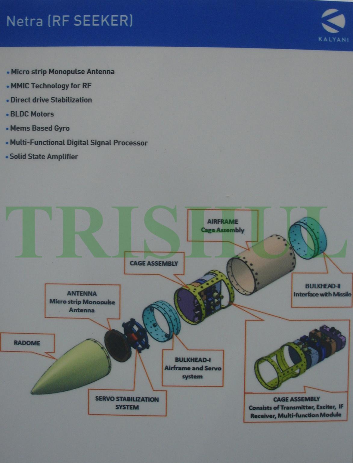 TRISHUL: 'Desi' Active RF Seeker For Astra-1 & Astra-2 BVRAAMs, QR