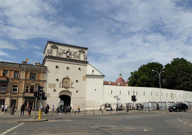 porta dell'aurora, ingresso centro storico vilnius