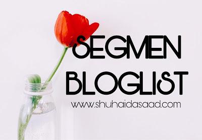 Segmen Bloglist Shuhaida #3
