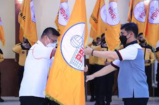Kapolda Sulsel Lantik 24 Kapolres Jajarannya Sebagai Ketua Umum PBVSI Di Wilayah