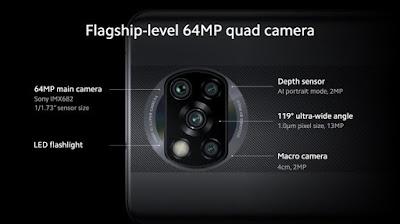 Kamera Xiaomi Poco X3 NFC