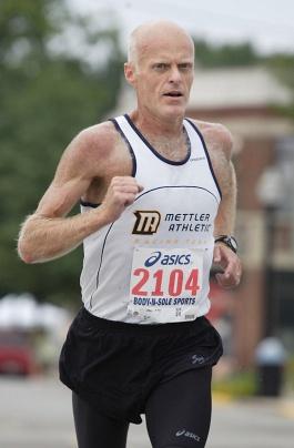Jim Acklin runs inaugural SJO 5K
