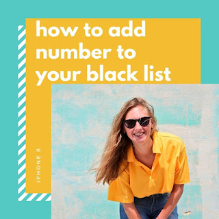 How To Add A Number To Your Black List On Android