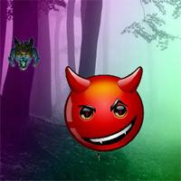 BigEscapeGames Crazy Devil Forest Escape