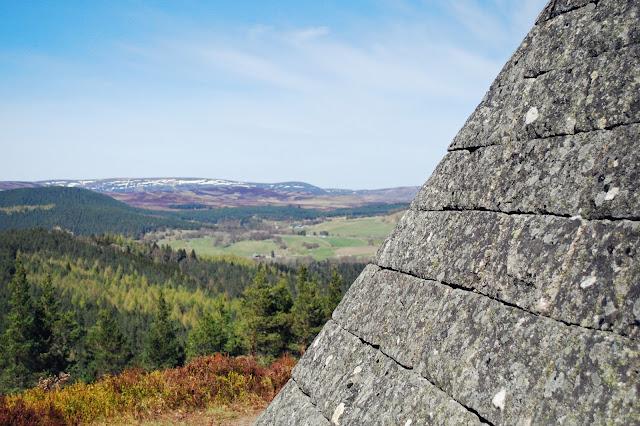 Prince Albert's cairn - Balmoral Cairns Aberdeenshire