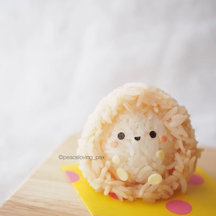 08-Baby-Hedgehog-Nawaporn-Pax-Piewpun-aka-Peaceloving-Pax-Food-Art-Inspiration-for-your-Bento-Box
