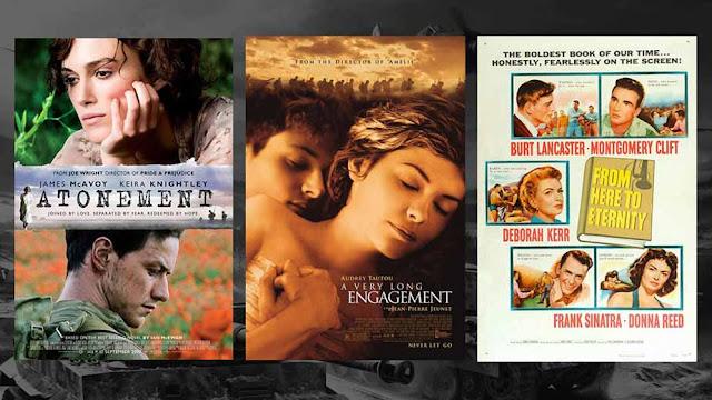 الحب في زمن الحرب.. أفلام رومانسية مميزة دارت أحداثها بالتزامن مع اندلاع الحروب