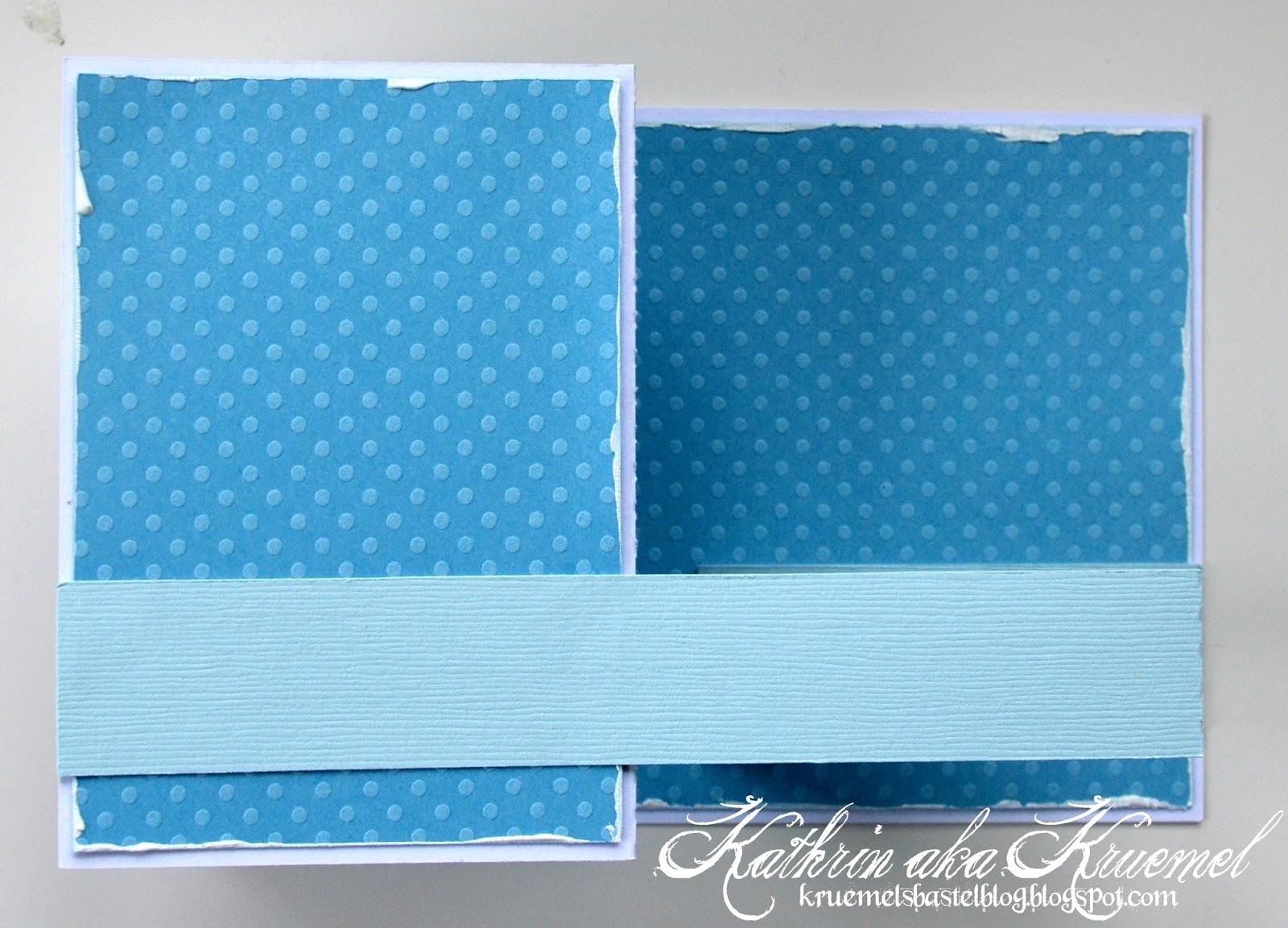 Stempeleinmaleins: Eine Pop Up Box in einer Karte - Pop Up Box in a card