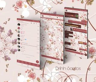 Flowers Cute Theme For YOWhatsApp & Fouad WhatsApp By Driih Santos